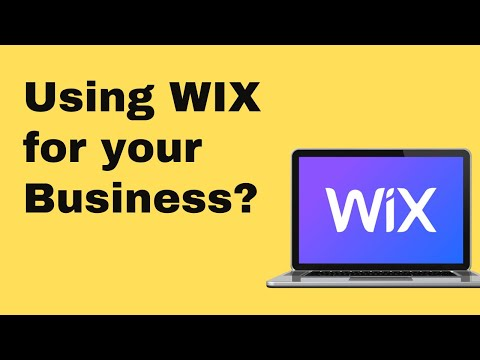 Is Wix The Right Choice For A Business?  The Pros And Cons Of Using Wix 2019