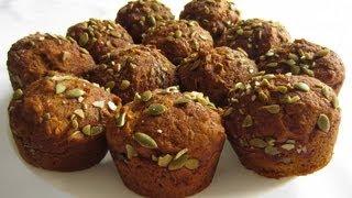 Pumpkin Spice Muffins - Healthy Autumn Treat!