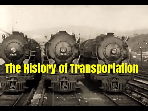 The History and Development of Transportation in America