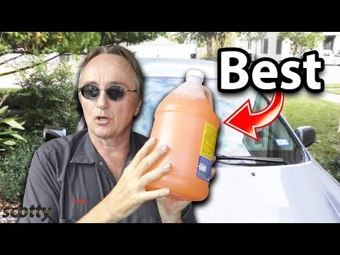 The Best Windshield Wiper Fluid In The World And Why