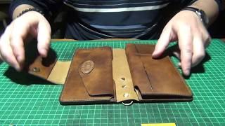 видео кожаный кошелек