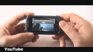 Nanex - MIni Celular con Android 4.0 resistente al agua, Dual Sim