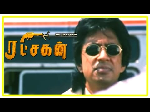 Ratchagan Tamil Movie Scenes | Sushmita Sen And Nagarjuna Patch Up | Raghuvaran Recollects His Past