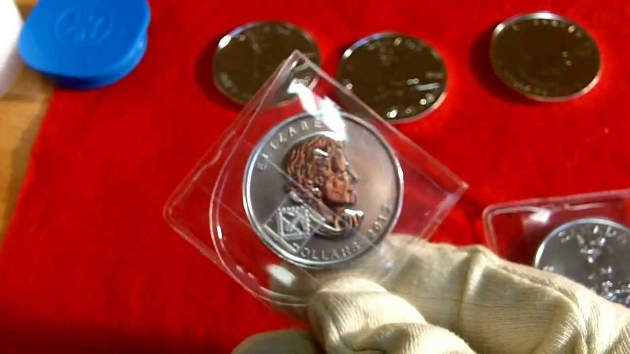 Silbermünze Canadian Wildlife Cougar (Puma) - nur 1 Mio Auflage vom Mutterhaus des Maple Leafs