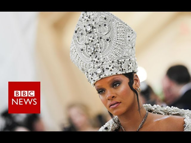 Saints and sinners at Met Gala - BBC News