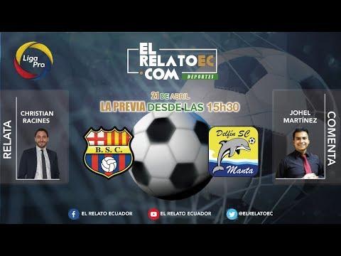 EN VIVO | FORMATO RADIO: Barcelona SC vs. Delfín SC