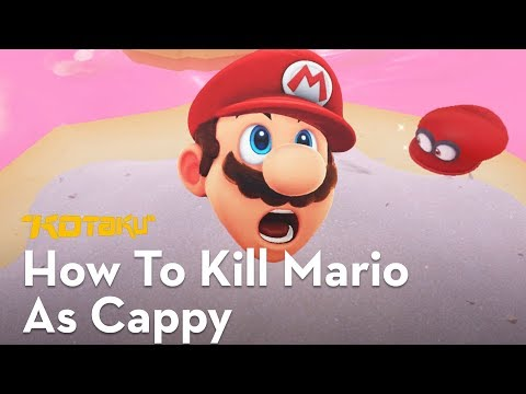 How To Kill Mario With Cappy In Super Mario Odyssey