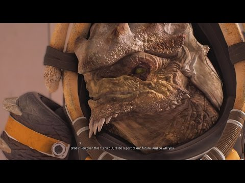 Mass Effect Andromeda Drack Becomes A Great Grandfather