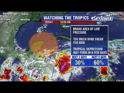 Tropical weather forecast: October 5, 2018