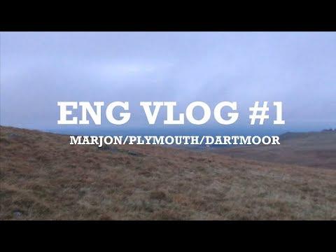 ENG vlog #1: Marjon/Plymouth/Dartmoor