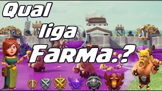 Qual liga Farma no Clash of Clans
