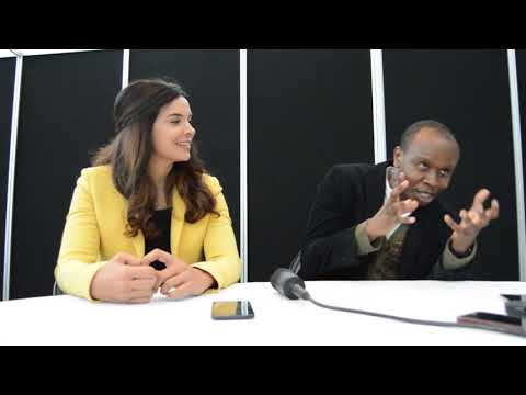 FOX's The Exorcist NYCC 2017 - Interview with Kurt Egyiawan and Zuleikha Robinson