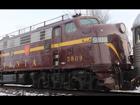 Final Trip for Pennsylvania Railroad E8s - Chasing the 2018 Toys for Tots Train on Norfolk Southern!