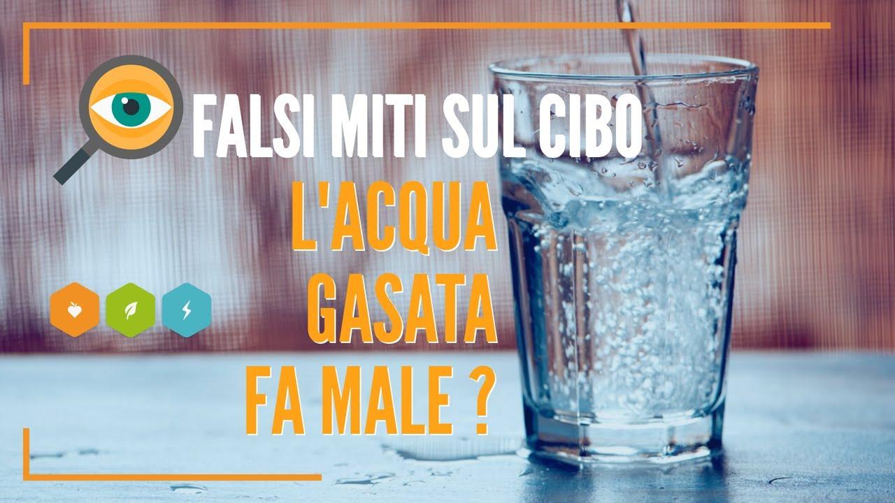 acqua gasata prostata