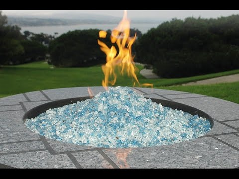 Fire Pit Glass - Fire Pit Glass - YouTube