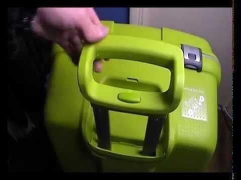carlton delux spinner 82cm hard shell luggage close look. Black Bedroom Furniture Sets. Home Design Ideas
