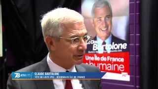 Régionales : Claude Bartolone sur les terres du FN
