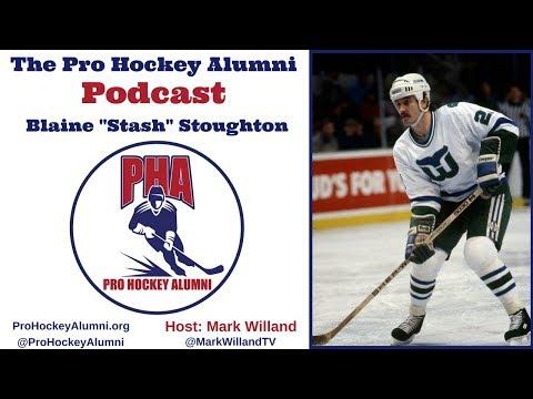 Blaine Stoughton on Pro Hockey Alumni Association PODCAST