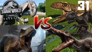 Jurassic World Evolution PL #31 - Wielki Turniej Największych Dinozaurów