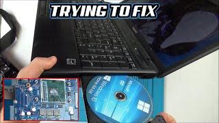 Trying to FIX: Toshiba LAPTOP (Satellite Pro C660)