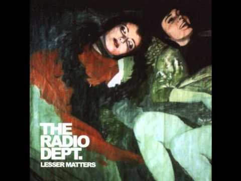 The radio dept- Lesser Matters (Full Album)