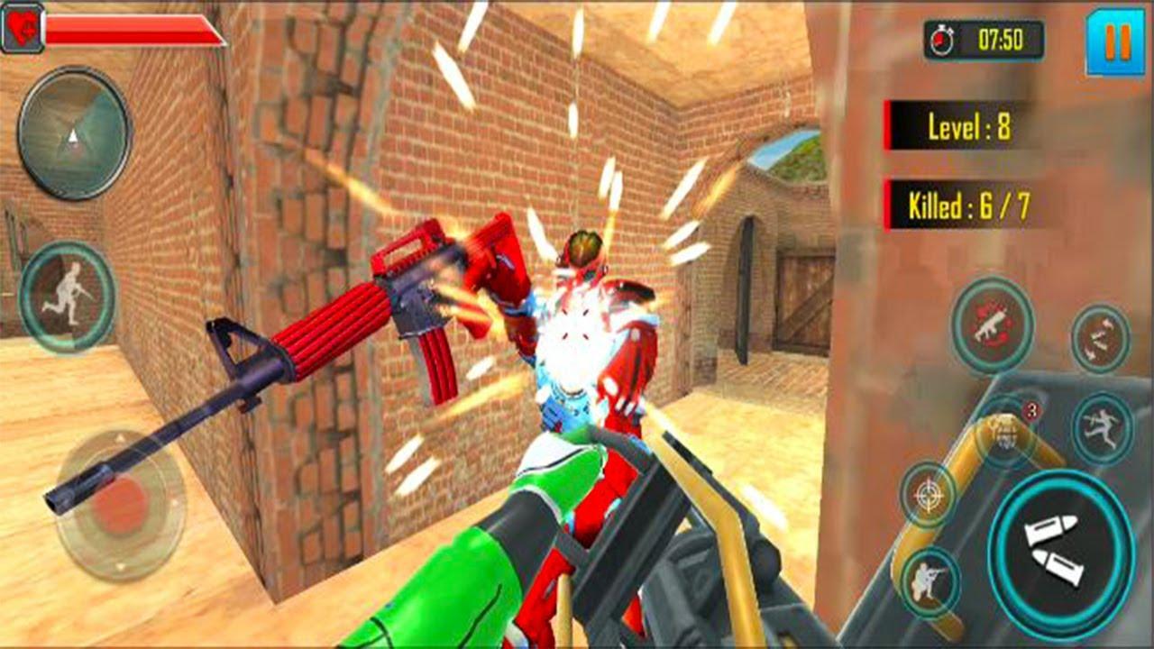 Fps Robot Shooting Games – Counter Terrorist Game - Android GamePlay -  FPS Shooting Games Android#5