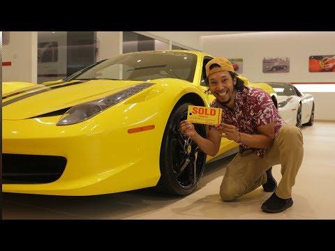 Que le pasó a el Ferrari amarillo?