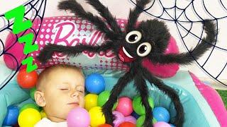 Тимур и история про черного паука