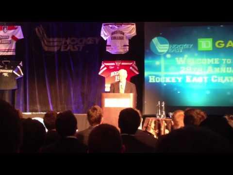 Jack Parker - 2013 Hockey East Awards Ceremony