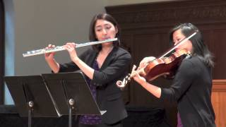 The Divisa Ensemble: Duet for Flute and Viola Andante (Malcolm Arnold)