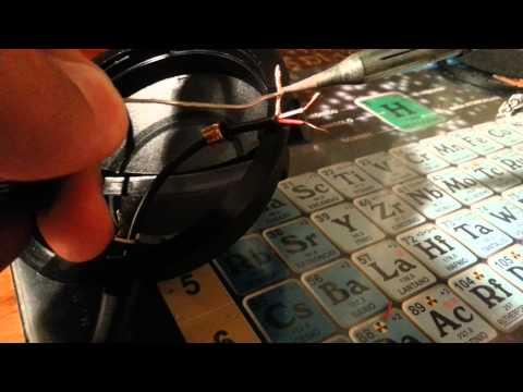 Reparación cable Beyerdynamic DT770