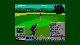 PGA TOUR GOLF II MASTER SYSTEM