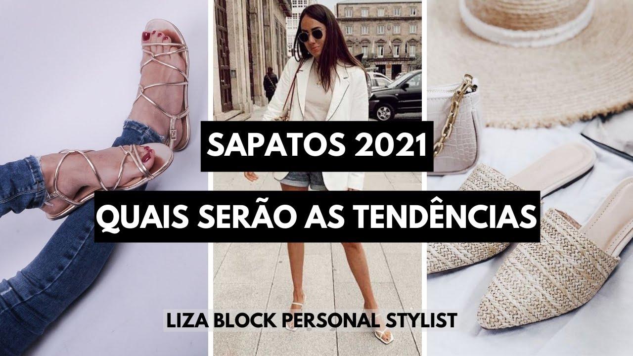 Sapatos 2021: Tendências Primavera/Verão