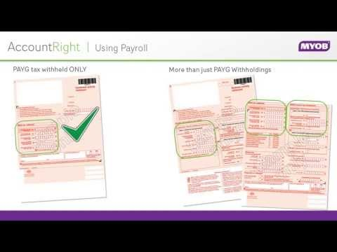AccountRight Plus - How to pay PAYG to the ATO