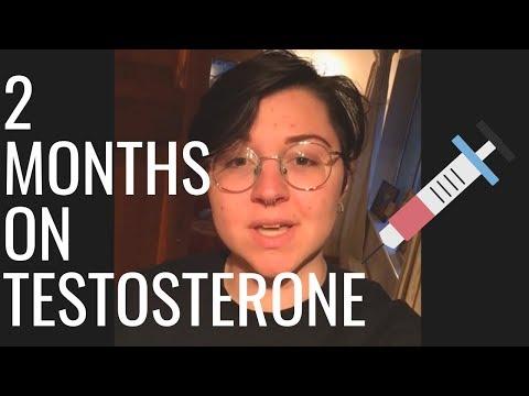2 MONTHS ON TESTO   transition timeline