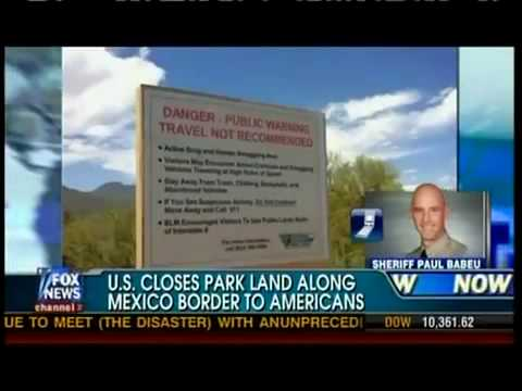 Breaking! Obama Gives Arizona Park To Mexcio?! Border Out Of Control