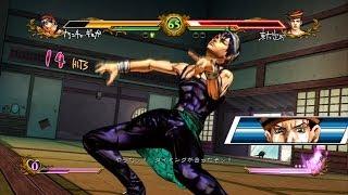 Jojo's All Star Battle Matches Narancia Ghirga
