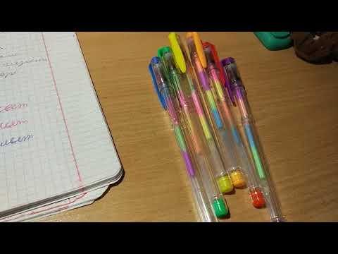 обзор на ручки и наклейки