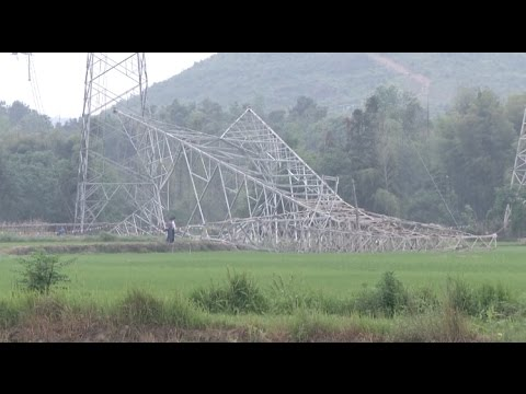 Three Dead, Two Injured in High Voltage Tower Collapse in Jiangxi, East China