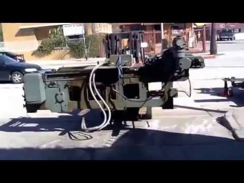 California Machinery Movers Offloading Mailander Artist Etching Press