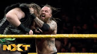 Dain creates a massive obstacle on Black's path to the NXT Title: WWE NXT, Feb. 28, 2018