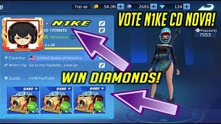 (Content Creator) SUB GAMES MOBILE CUSTOM ROOM! // VOTE N1KE CD NOVA AND WIN DIAMONDS! !gamertag