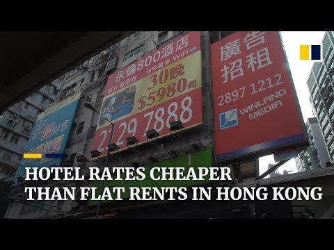 Hotel Rates Cheaper Than Flat Rents In Hong Kong