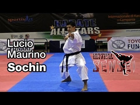Lucio Maurino teaching kata Sochin - Karate All Stars 2013