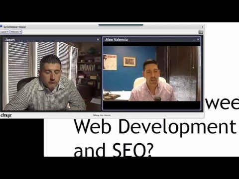 Difference between web development and SEO