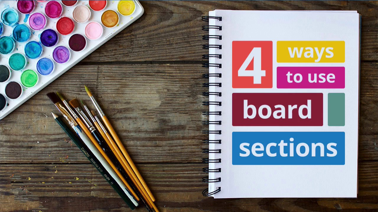 4 ways to use the new board sections