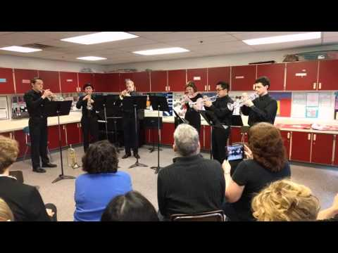 K2M4 Final Forme: Curtis Senior High School Trumpet Ensemble