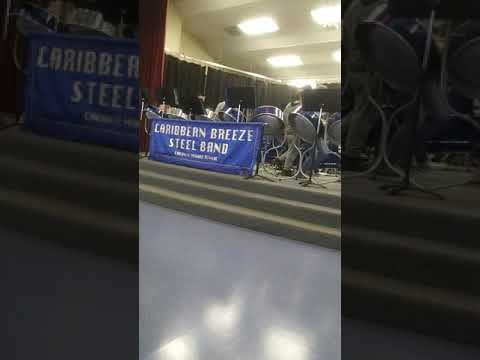 Chehalis middle school steel drums band