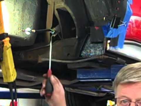 Part 1 - Video Instruction to Install Trailing Arms on C2 and C3 Corvettes