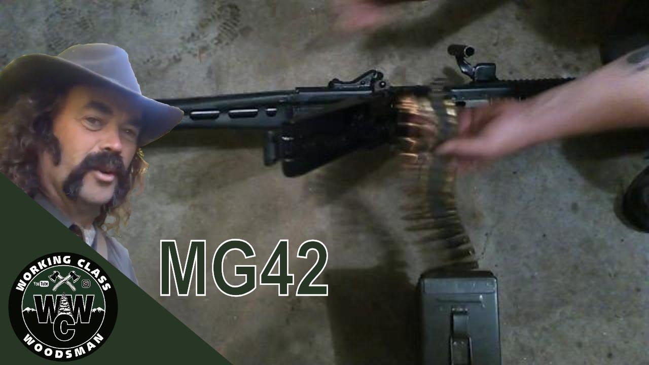 BELT FEED MG42 QUICK BARREL CHANGE